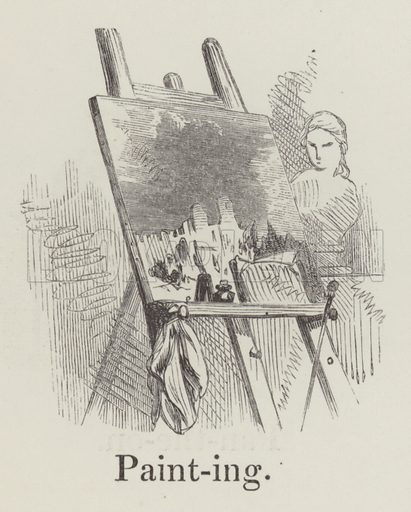 Painting. Illustration for An Illustrated Vocabulary For The Use Of The Deaf And Dumb (SPCK, 1857).
