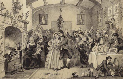 Old Christmas Festivities