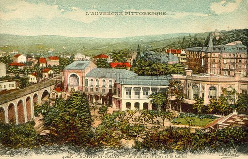L'Auvergne, France. Postcard, early 20th century.