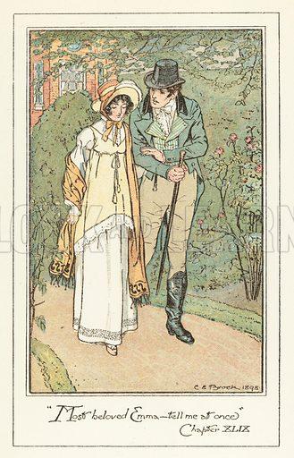 Illustration for Emma by Jane Austen (Dent, 1898).