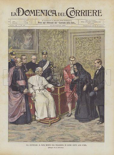 Fra Centenari, Il Papa Riceve Una Pellegrina Di Oltre Cento Anni D'Eta