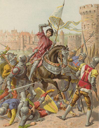 Jeanne D'Arc faite prisonniere a Compiegne
