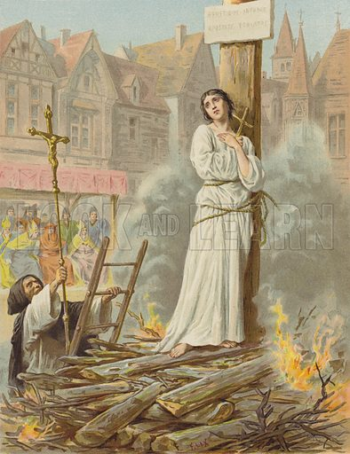 Supplice de Jeanne D'Arc