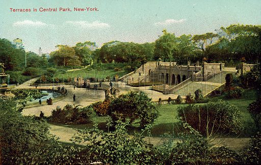 Terraces, Central Park, Manhattan, New York City, USA