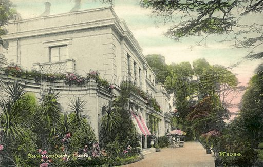Gunnersbury Park.  Postcard, early 20th century.