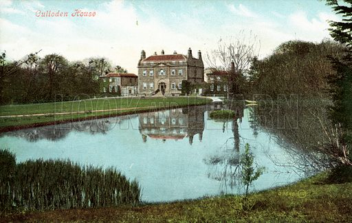 Culloden House.  Postcard, early 20th century.