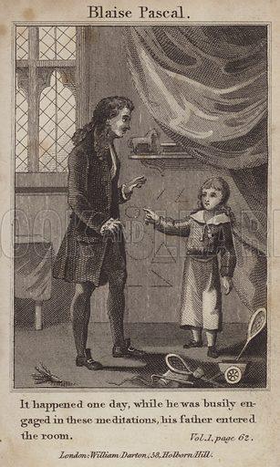 Blaise Pascal as a boy