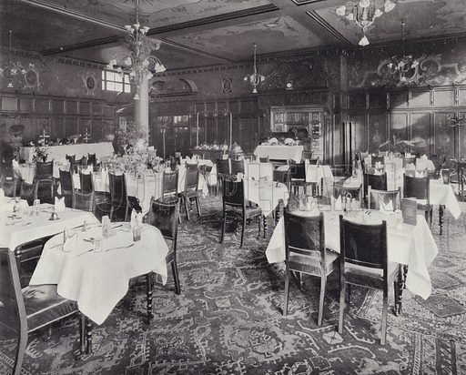The Grill Room and Buffet, Harrods