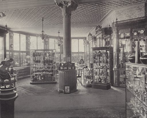 Silver, Plate and Cutlery Department, Harrods