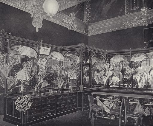 Sunshade and Umbrella Department, Harrods