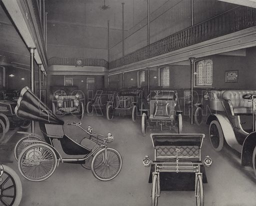 Motor Garage, Harrods