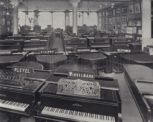 Piano Department, Harrods