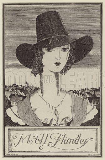 Illustration for Moll Flanders by Daniel Defoe