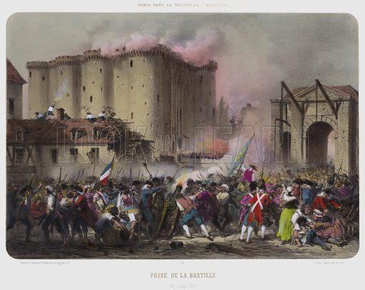 Prise De La Bastille, 14 Juillet 1789