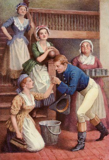 Illustration for A Sentimental Journey by Laurence Sterne
