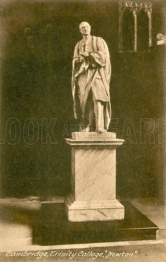 Cambridge, Trinity College, Isaac Newton, monument