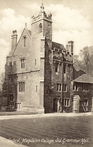 Magdalen College, Oxford, Old Grammar Hall