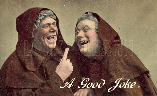 Two Monks, A Good Joke