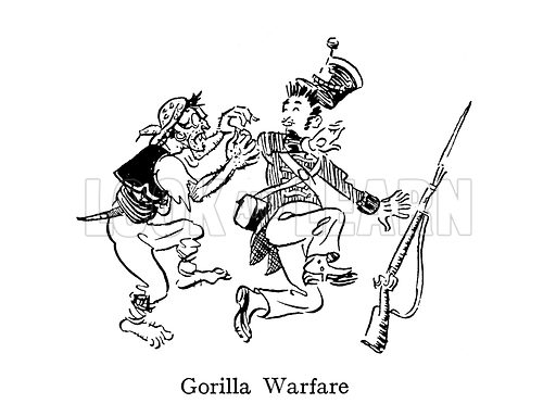Gorilla Warfare, as practised in Spain and Portugal during the Napoleonic wars