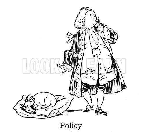 Sir Robert Walpole, Policy, Let Sleeping Dogs Lie