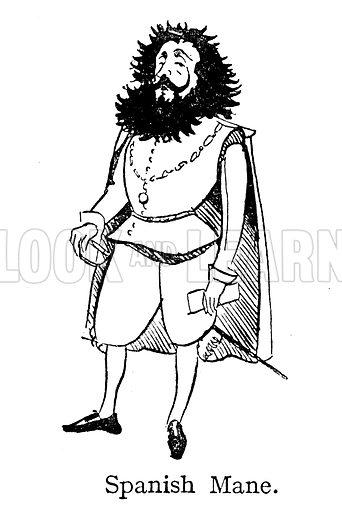 The Spanish Mane, singed by Sir Francis Drake