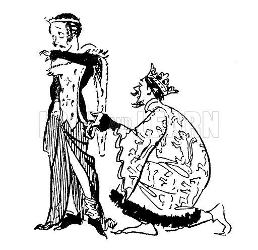 King Edward III and the Garter