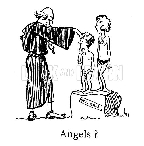 Angels, Pope Gregory, Non Angli, Sed Angeli (not Angels, but Anglicans)