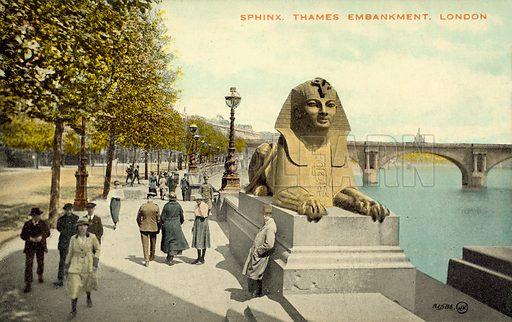 Sphinx, Thames Embankment, London