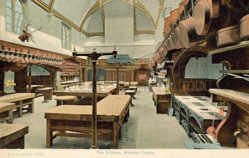 The kitchens, Windsor Castle