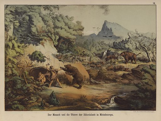 People and animals of Prehistoric Europe