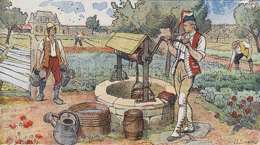 A sergeant in the Gardes Francaises, Lazare Hoche wanted to learn, so he hepled gardeners in order to earn monry with …