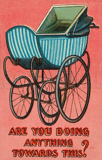 Are you doing anything toward this? Postcard, early 20th century.