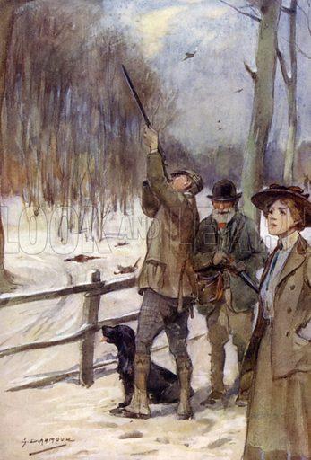 Modern pheasant shooting