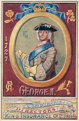 King George Ii Stock Image Look And Learn