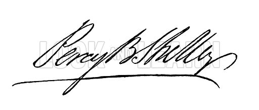 Percy Bysshe Shelley. Illustration for The Book of Gems edited by SC Hall (Henry G Bohn, 1849).