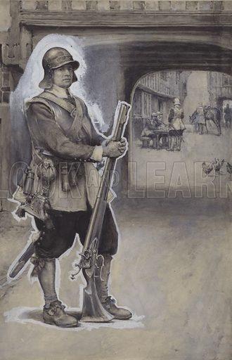 John Bunyan as a soldier.