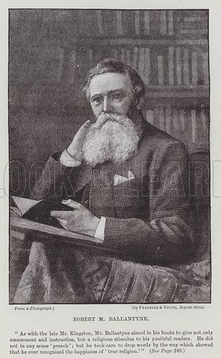 Robert M Ballantyne. Illustration for The Fireside Pictorial Annual, 1894.