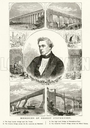 Memories of Robert Stephenson. Illustration for The Boy's Own Annual, 1881.