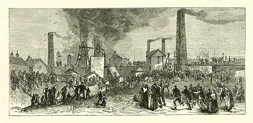 Factory. Illustration for The Boy's Own Annual, 1881.