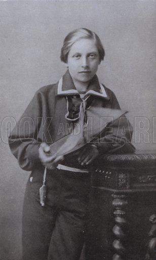 Kaiser Wilhelm II as a boy.