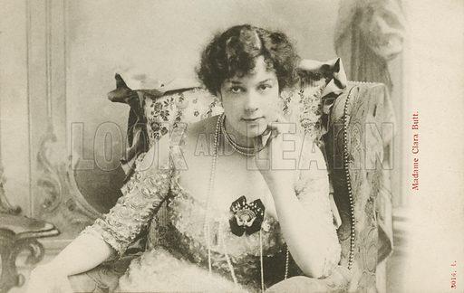 Clara Butt. Postcard, early 20th century.