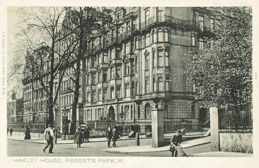Harley House, Regent's Park, London