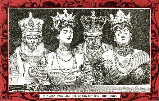 If women look like queens, why not men like kings