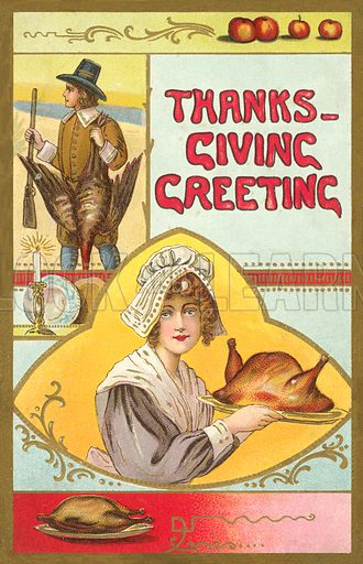 Thanks-Giving Greeting