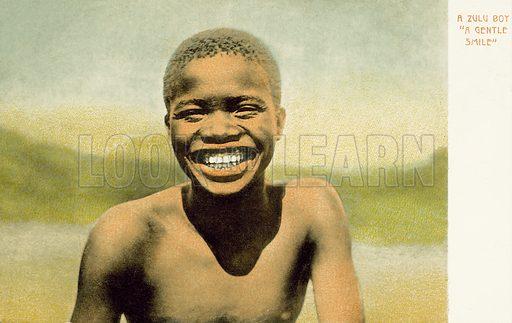 A Zulu boy, a gentle smile
