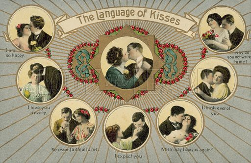 The language of kisses