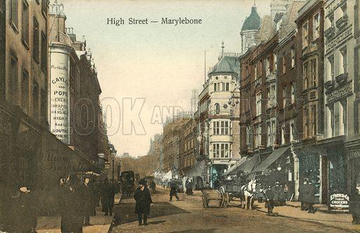 High Street, Marylebone, London