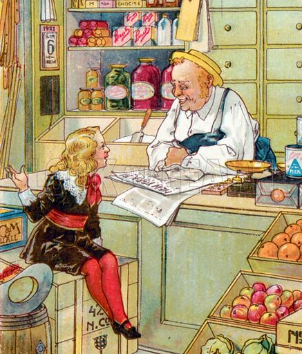 Illustration For Little Lord Fauntleroy By Frances Hodgson Stock Image Look And Learn
