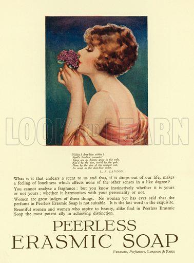 Advertisment, Peerless Erasmic Soap