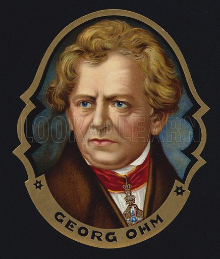 Cigar Label, George Ohm